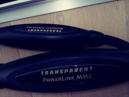 Transparent PowerLink MM2 UK plug