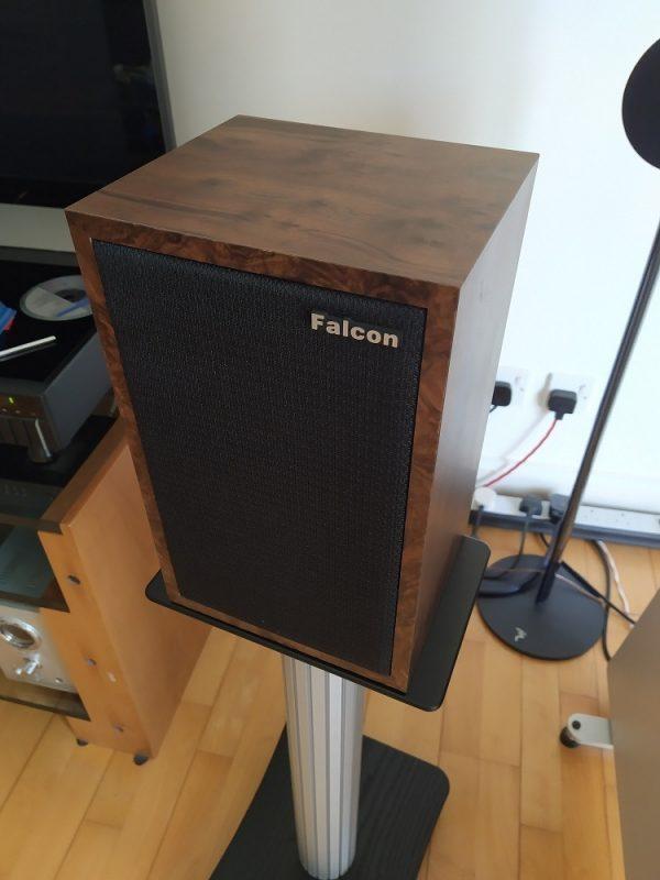 Falcon LS3/5A Gold Badge Burr Walnut
